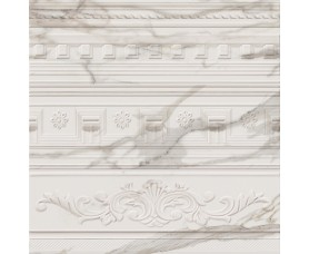 декор настенный (вставка) charme evo calacatta inserto arty mix (8мм) глянец