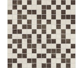 мозайка crystal коричневый+бежевый