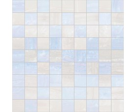 мозайка diadema голубой+белый