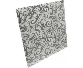 квадратная зеркальная серебряная плитка алладин-1 кзсал-1