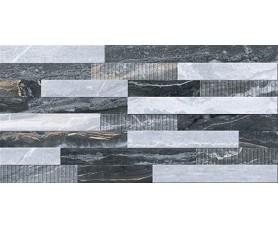 керамогранит bergamo k946622lpr 3d микс декор холодная гамма лпр