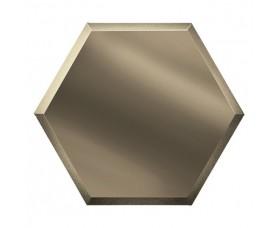 зеркальная бронзовая плитка сота созб2