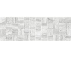 декор glossy мозаичный серый mm11188