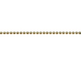 бордюр александрия карандаш золото pod015