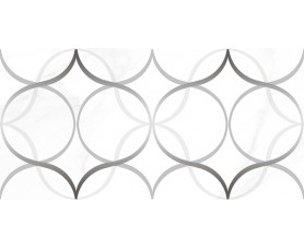 декор crystal resonanse белый