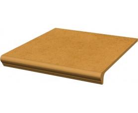 ступень простая с носиком структ. aquarius beige