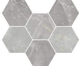 мозайка charme evo imperiale mosaico hexagon нат