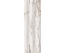 декор настенный (вставка) charme evo calacatta inserto wave (8мм) глянец