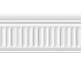 бордюр бланше 19048/3f белый структурированный