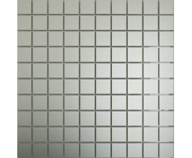мозайка зеркальная серебро матовое см25 дст чип 25 х 25