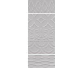 настенная плитка 16018 авеллино серый структура mix