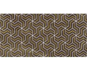 декор crystal fractal коричневый