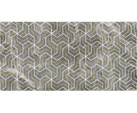 декор crystal fractal серый