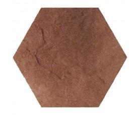 напольная плитка taurus brown heksagon