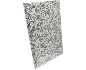 плитка зеркальная серебряная алладин-1 пзсал-1