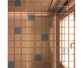 мозайка зеркальная бронза + графит б90г10 дст чип 25 х 25
