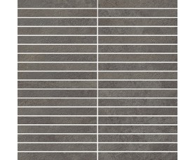 мозайка millennium black mosaico strip