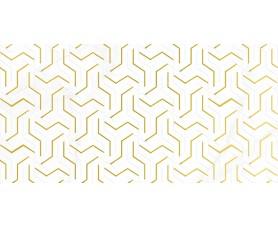 декор crystal fractal белый