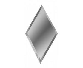 зеркальная серебряная плитка ромб рзс1-01