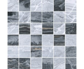 мозайка bergamo k946628lpr мозайка холодный микс (5х5)