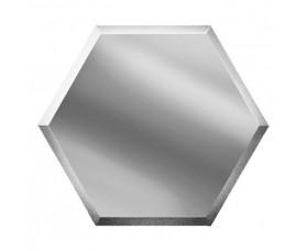 зеркальная серебряная плитка сота созс3