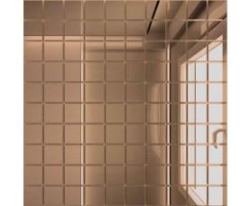 мозайка зеркальная бронза б25 дст чип 25 х 25