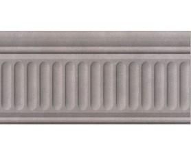 бордюр александрия серый 190333f