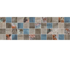 декор country мозаичный тёмный mm11191