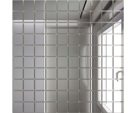 мозайка зеркальная серебро с25 дст чип 25 х 25
