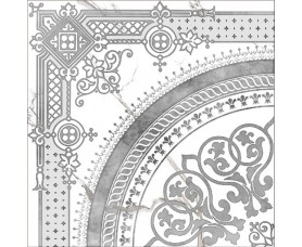 декор classic marble g-270/g/d02 белый