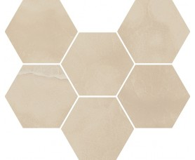 мозайка charme evo onyx mosaico hexagon нат