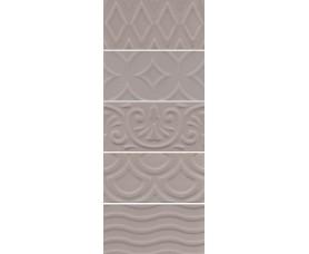 настенная плитка 16019 авеллино коричневый структура mix